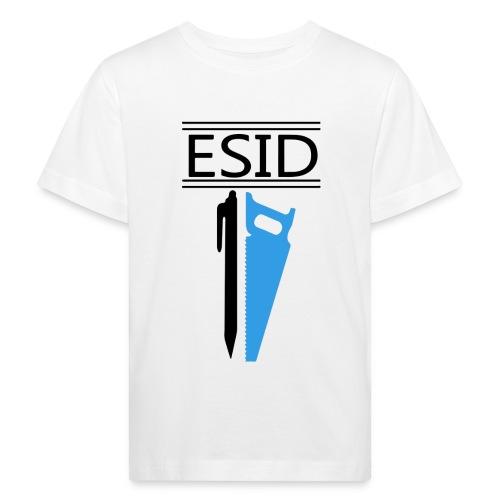 ESID Zwart-blauw - Kinderen Bio-T-shirt