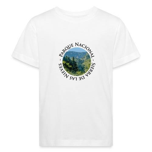 Parque Nacional Sierra de las Nieves - Camiseta ecológica niño