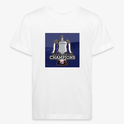 MFC Champions 2017/18 - Kids' Organic T-Shirt