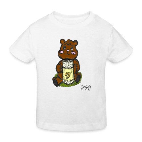 Ours Simple - T-shirt bio Enfant