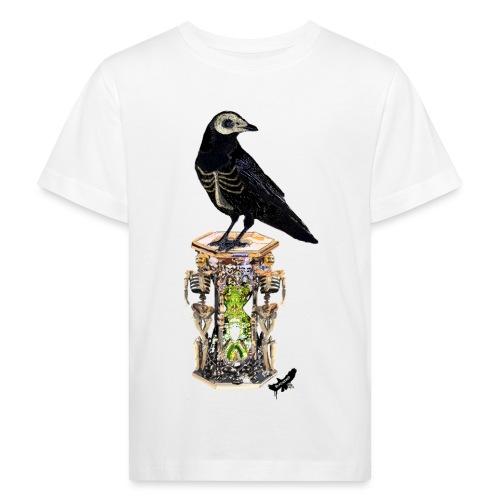 'Memento Mori' by BlackenedMoonArts - Organic børne shirt