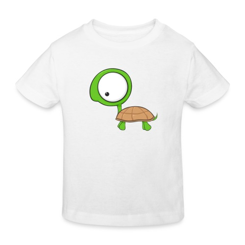 Cartoon Turtle - Camiseta ecológica niño