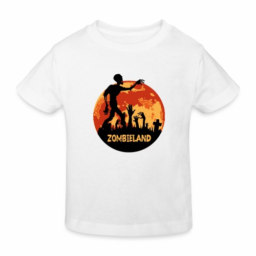 Zombieland Halloween Design - Kinder Bio-T-Shirt