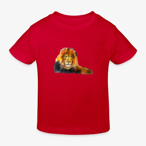 Lion - Kids' Organic T-Shirt