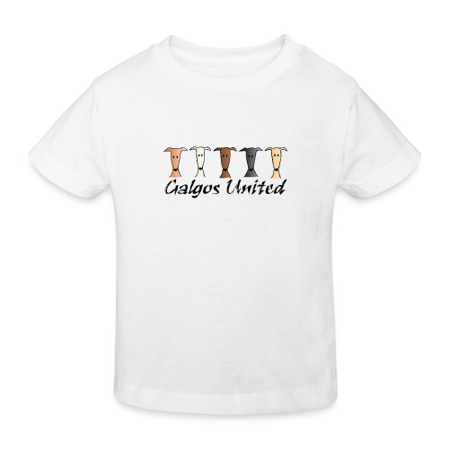 Galgos united - Kinder Bio-T-Shirt