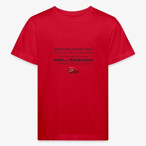Minha bibicleta - Kids' Organic T-Shirt