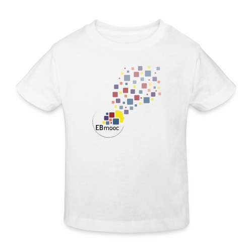 EBmooc T Shirt neutral - Kinder Bio-T-Shirt