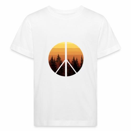 peace and sun - T-shirt bio Enfant
