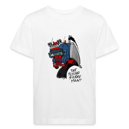 The flying skane man - Kinderen Bio-T-shirt