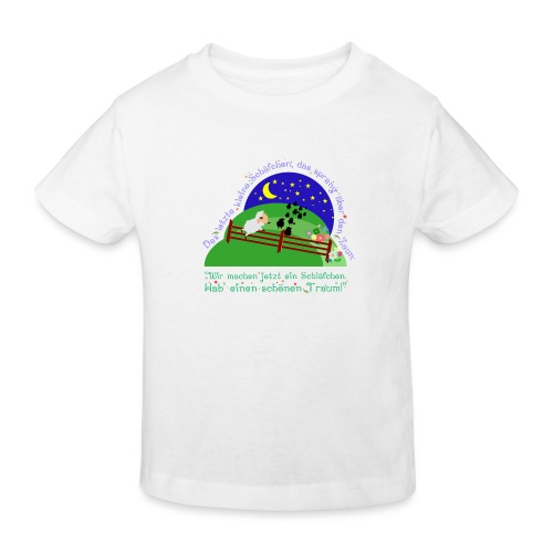 Schäfchen - Kinder Bio-T-Shirt