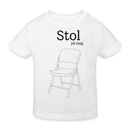 Stol på meg - Økologisk T-skjorte for barn