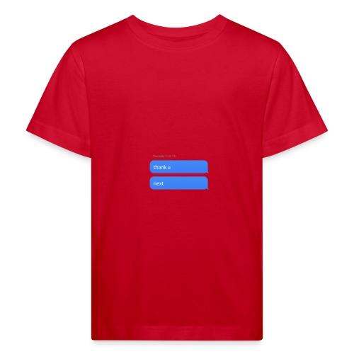 Thank u, next - Kinderen Bio-T-shirt