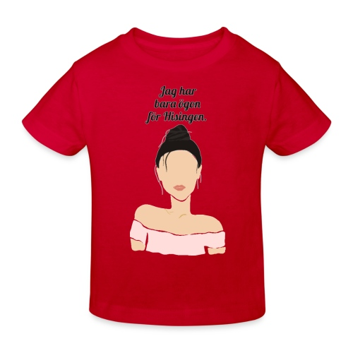 Eyes for Hisingen - Ekologisk T-shirt barn