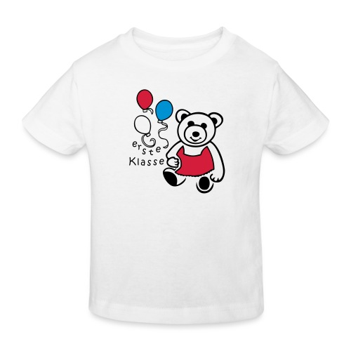 Erste Klasse Einschulung - Kinder Bio-T-Shirt
