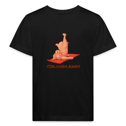 Schweindi-Stira-Sukham - Kinder Bio-T-Shirt