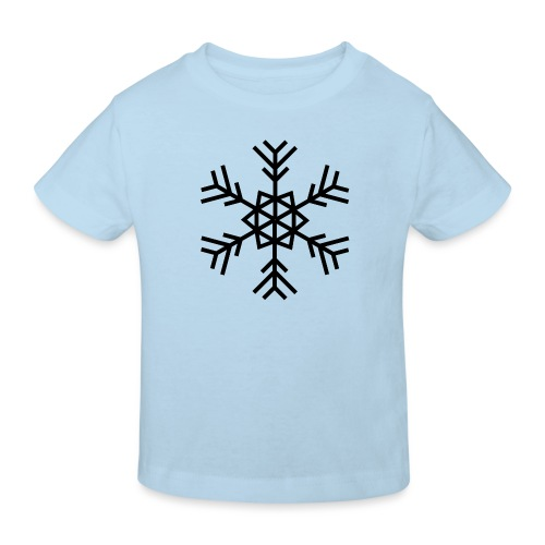 Schneeflocke - Kinder Bio-T-Shirt