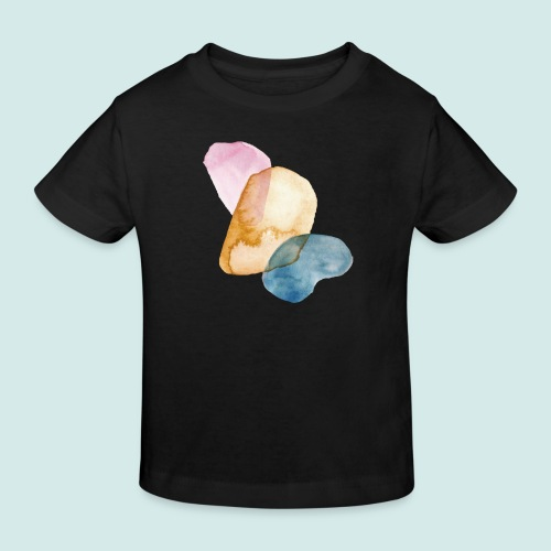Watercolors - Kinder Bio-T-Shirt