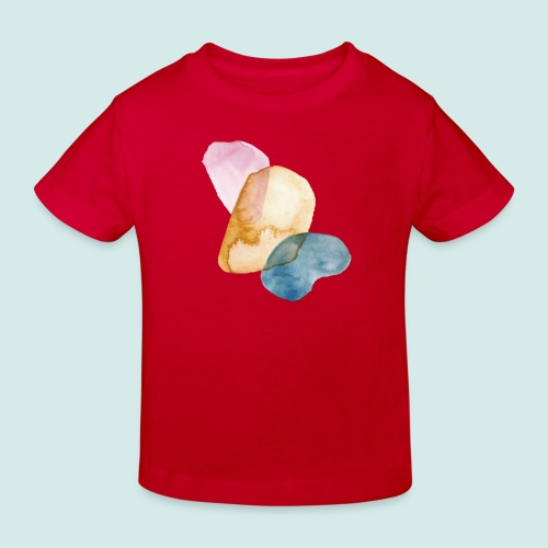 Watercolors - Kinder Bio-T-Shirt