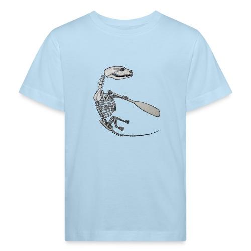Skeleton Quentin - Kids' Organic T-Shirt