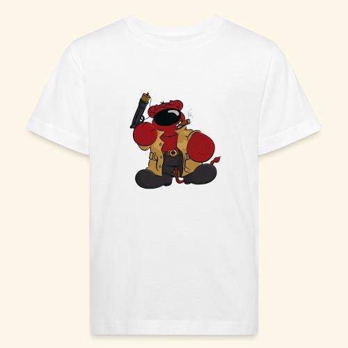 chris bears Der Bär ist ein Superheld - Kinder Bio-T-Shirt