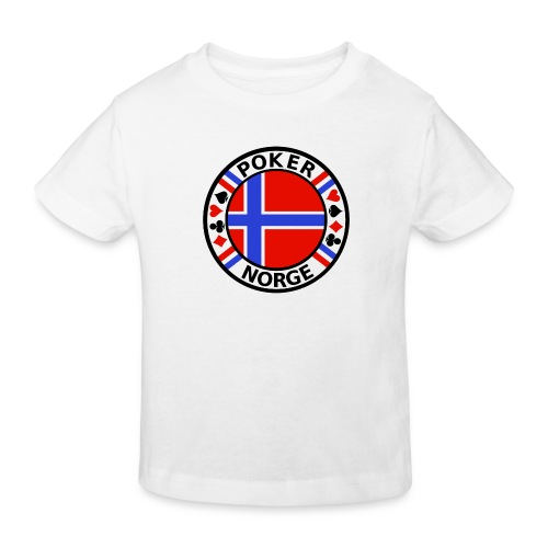 PoKeR NoRGe - Kids' Organic T-Shirt