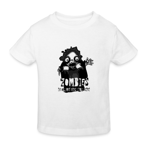 zombies - the only meat eaters i truly respect sv - Ekologisk T-shirt barn