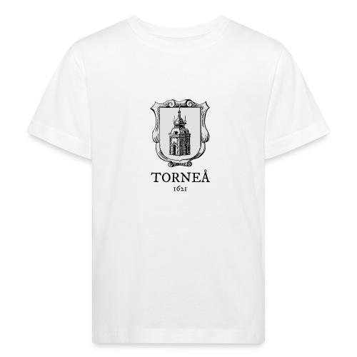 Tornea 1621 harmaa - Lasten luonnonmukainen t-paita