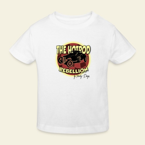 hotrod rebellion - Organic børne shirt