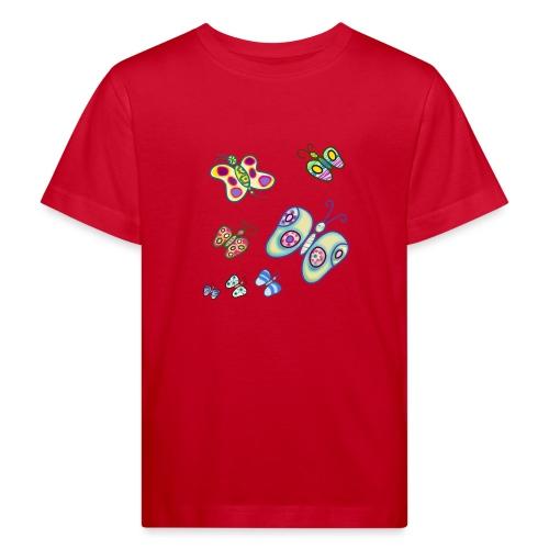 Allegria di farfalle - Maglietta ecologica per bambini