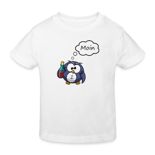 Moin Eule - Kinder Bio-T-Shirt