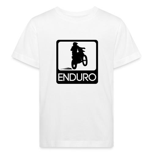 Enduro Rider - Kinder Bio-T-Shirt