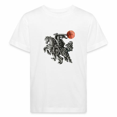 Lithuania basketball - Kids' Organic T-Shirt