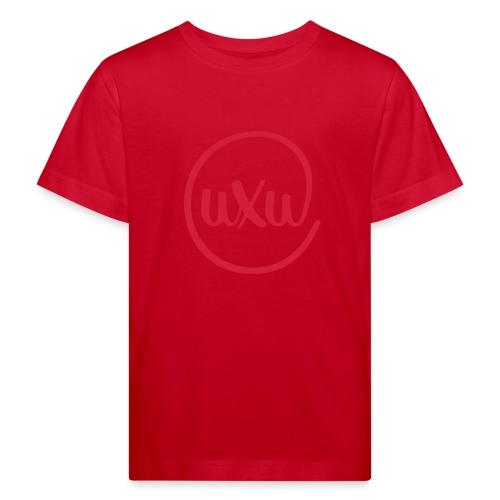 UXU logo round - Kids' Organic T-Shirt