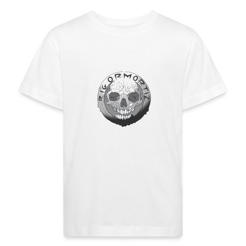 Rigormortiz Black and White Design - Kids' Organic T-Shirt