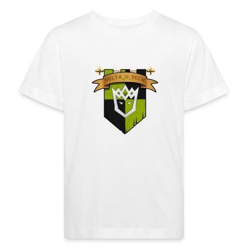 Delta_o_Tech-Banner - Kids' Organic T-Shirt