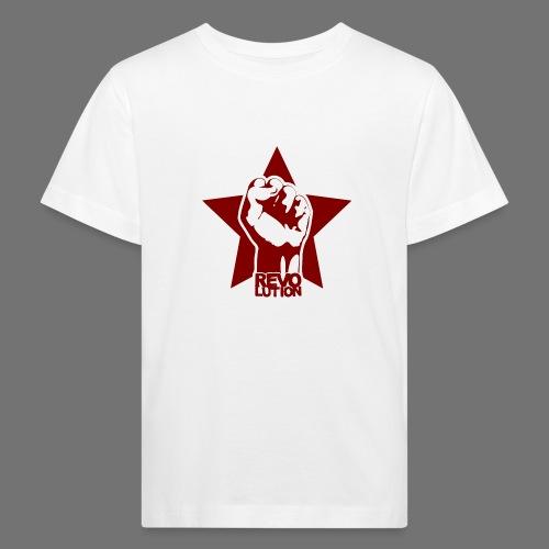 Vallankumous - Lasten luonnonmukainen t-paita