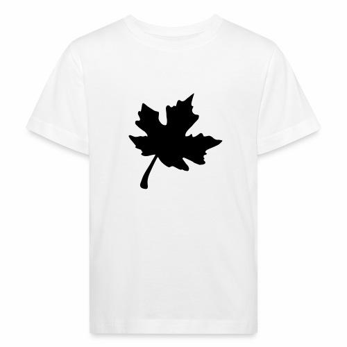 Ahorn Blatt - Kinder Bio-T-Shirt