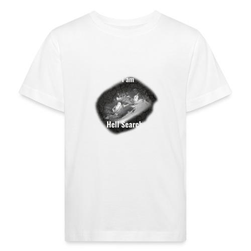 I am Hell Searcher T-Shirt Black - Kids' Organic T-Shirt