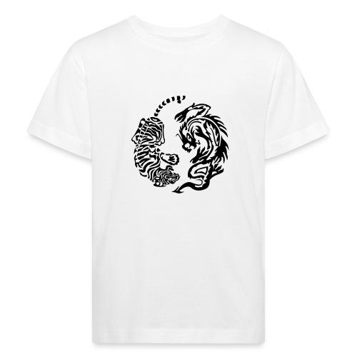 Drachentiger - Kinder Bio-T-Shirt