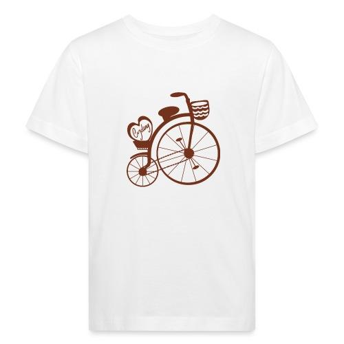 Bici vintage - Camiseta ecológica niño