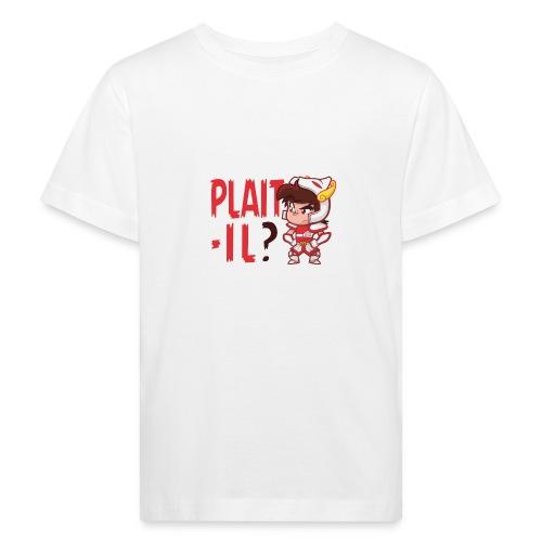 Seiya vous dit Plaît-il ? (texte rouge) Tee - T-shirt bio Enfant