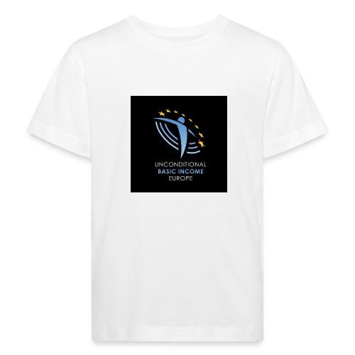 02 ubie on black centered square jpg - Kinderen Bio-T-shirt