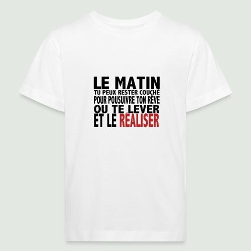 le matin - T-shirt bio Enfant