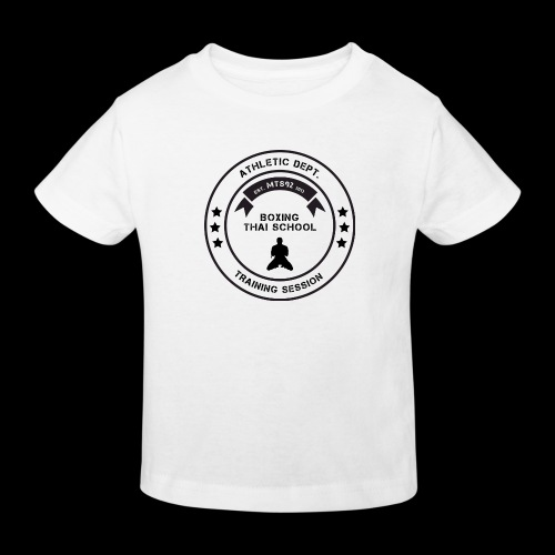 MTS92 BOXING THAI SCHOOL ROND - T-shirt bio Enfant