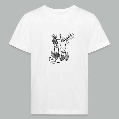DFBM unbranded black - Kids' Organic T-Shirt