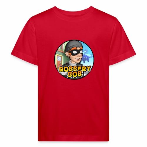 Robbery Bob Button - Kids' Organic T-Shirt