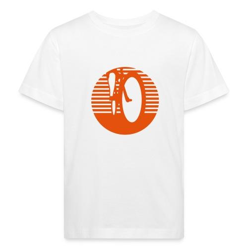 Radfahrer radfahren biken - Kinder Bio-T-Shirt