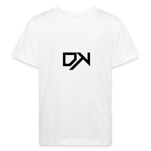 DewKee Logo T-Shirt Black - Kids' Organic T-Shirt