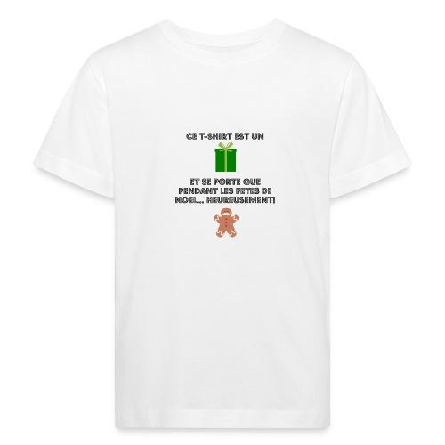 T-shirt cadeau de Noël - T-shirt bio Enfant