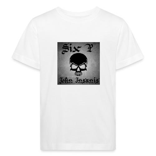 Harmaa skull Cap - Lasten luonnonmukainen t-paita